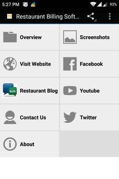 Restaurant Billing Software poster