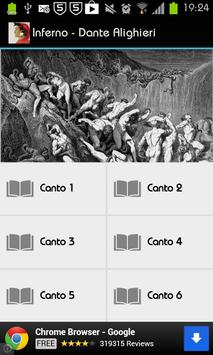 Inferno - Dante Alighieri poster