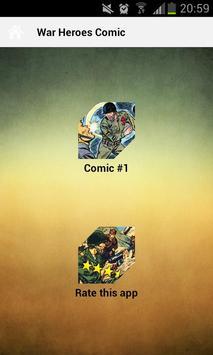 War Heroes Comic apk screenshot