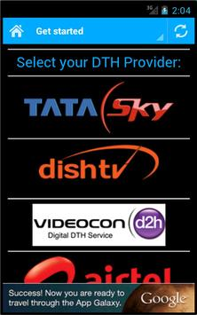 DTH Television Guide India poster