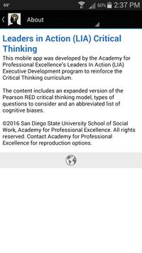 Critical Thinking apk screenshot