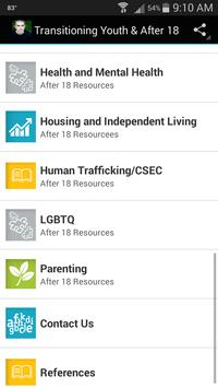 Transitioning Youth & After 18 apk screenshot