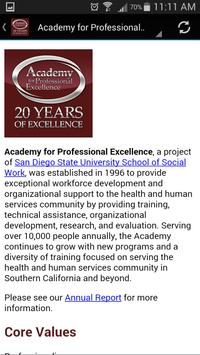 Academy for Professional Excel apk screenshot
