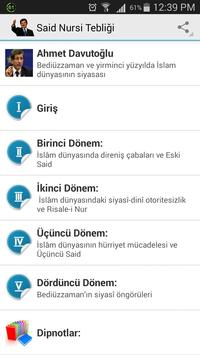 Said Nursi Tebliği apk screenshot
