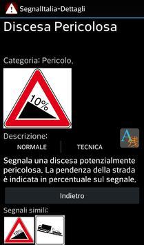 SegnalItalia-traffic signs ITA apk screenshot