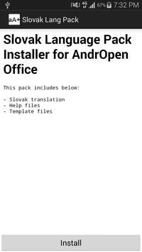 Slovak Language Pack poster