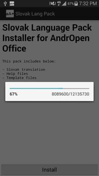Slovak Language Pack apk screenshot