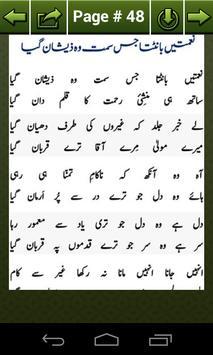 Famous Naat Lyrics apk screenshot