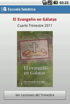 Escuela Sabática poster