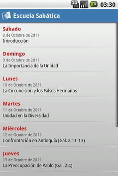 Escuela Sabática apk screenshot