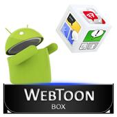 웹툰박스 (43가지 웹툰) icon