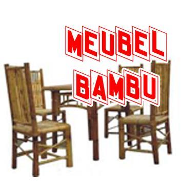 Aneka Furniture dari Bambu poster