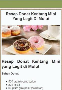 Assorted Donuts Recipe apk screenshot