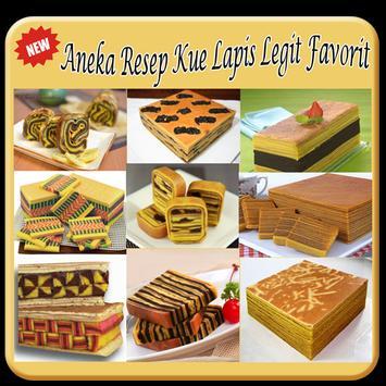 25 Resep Kue Lapis Legit TOP apk screenshot