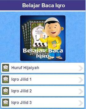 Belajar Baca Iqro apk screenshot