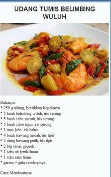 Aneka Resep Masakan Udang apk screenshot