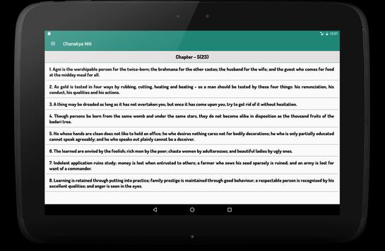 Chanakya Niti in English apk screenshot