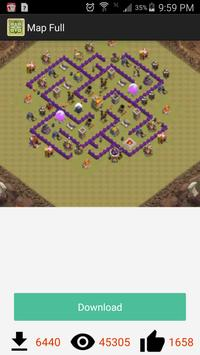 Map for Clash of Clan apk screenshot