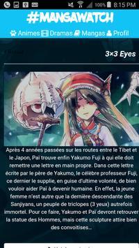 Manga Watch - Anime VOSTFR apk screenshot