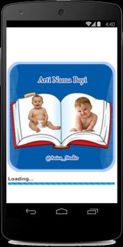 Arti Nama Bayi poster