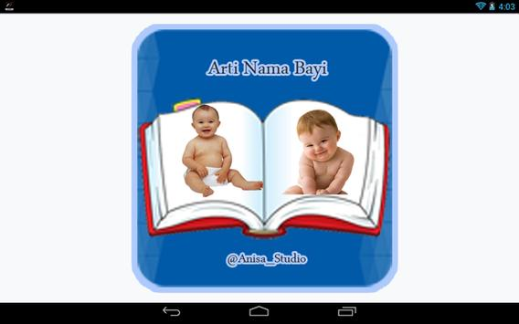 Arti Nama Bayi apk screenshot