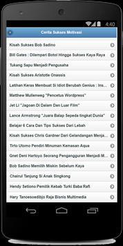 Cerita Sukses Motivasi apk screenshot