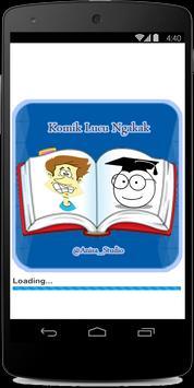 Komik Lucu Ngakak poster