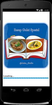 Resep Gulai Spesial poster