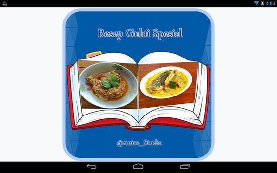 Resep Gulai Spesial apk screenshot