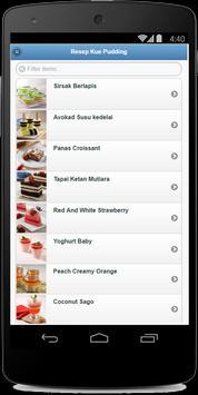 Resep Kue Pudding apk screenshot