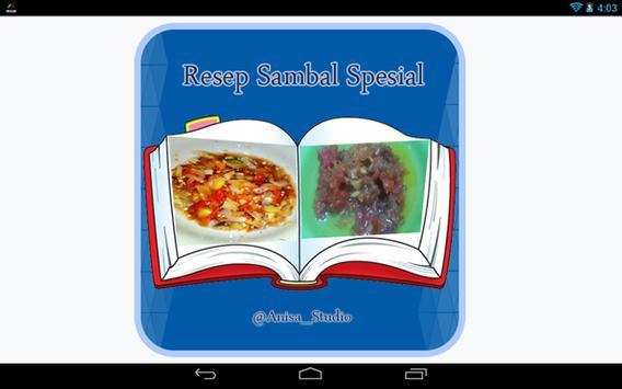 Resep Sambal Spesial apk screenshot