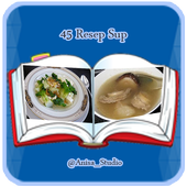 45 Resep Sup icon