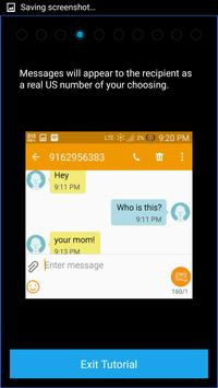 Mask My Number[Secure Texting] apk screenshot