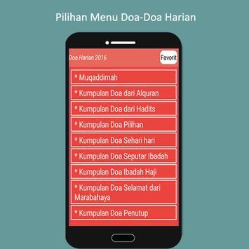 Doa Harian 2016 poster