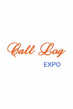 Call Log Expo poster