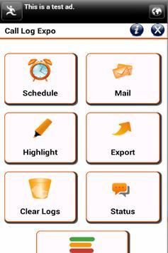 Call Log Expo apk screenshot