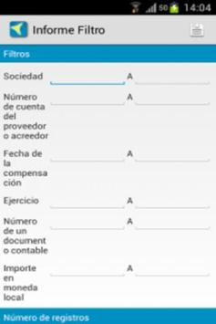 SAP Reports apk screenshot