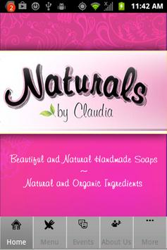 Naturals by Claudia poster
