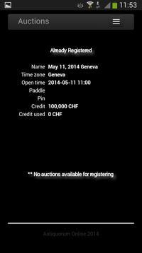 Antiquorum Auctioneers apk screenshot