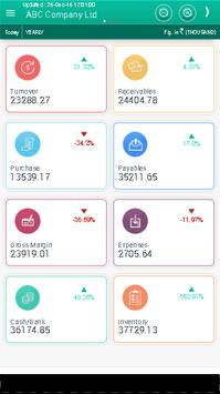Tally Business Dashboard apk screenshot