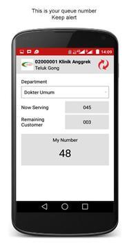 ANTRILA Queue App apk screenshot