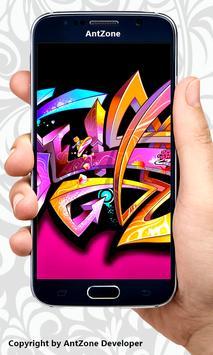 Graffiti Alphabet Letters A-Z apk screenshot