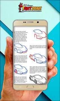 How To Draw Cars (Lamborghini) apk screenshot