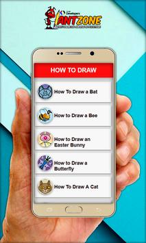 How To Draw Cartoons 2017 apk screenshot