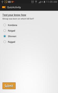Brief History of Shivaji apk screenshot