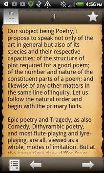 The Poetics apk screenshot