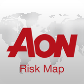 Aon Risk Map - Free icon