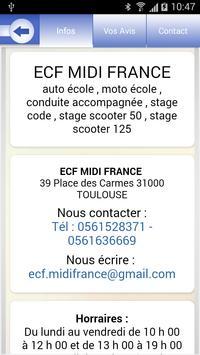ECF Midi France apk screenshot
