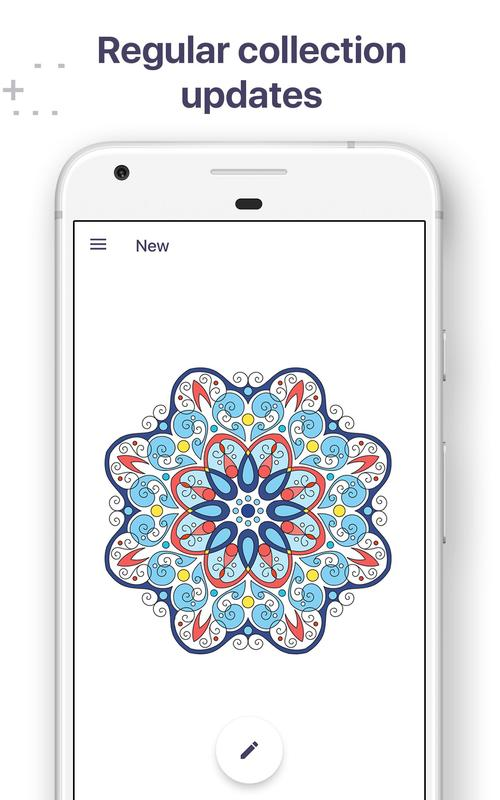 coloring book for me mandala apk download free entertainment app for android. Black Bedroom Furniture Sets. Home Design Ideas