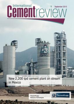 International Cement Review poster